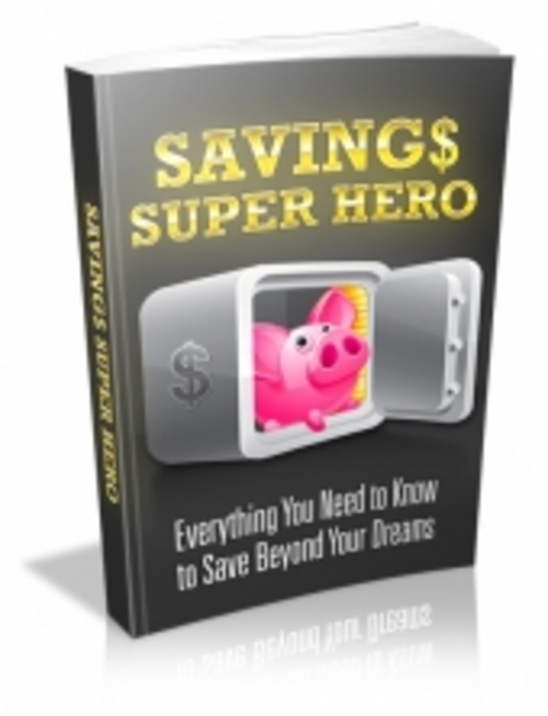 Product picture Savings Super Hero
