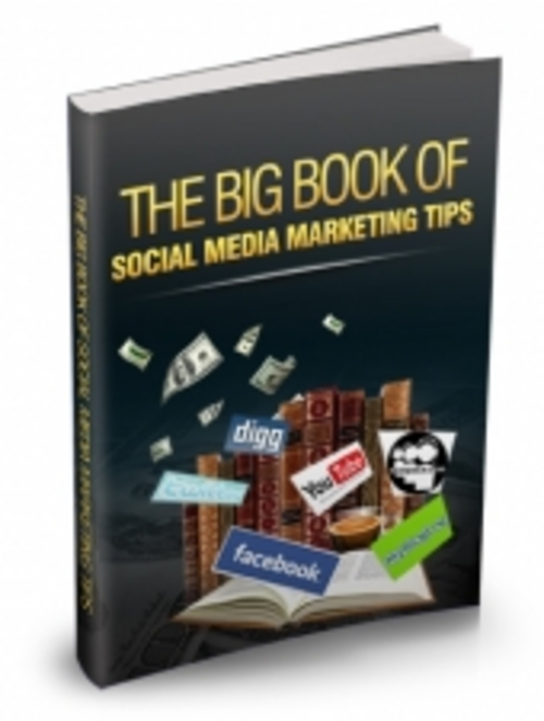Product picture The Big Book of Social Media Marketing Tips
