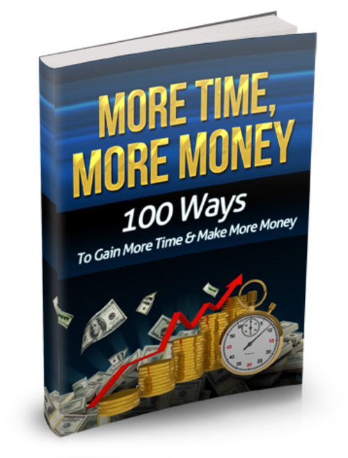 Product picture More Time, More Money